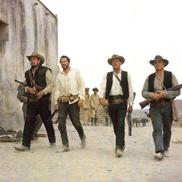 Escena de la obra cumbre de Peckinpah, Grupo Salvaje (1968) (Warner Bros.)