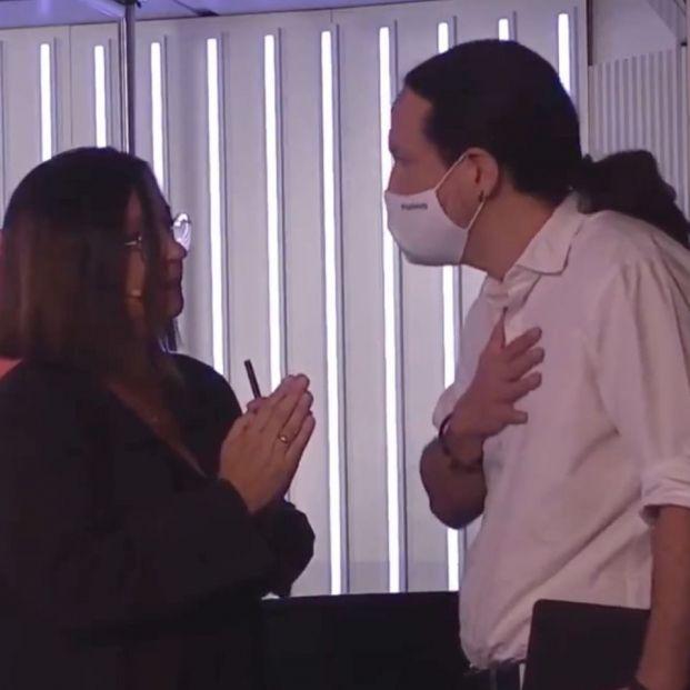 Iglesias se marcha del estudio de la Cadena SER en pleno debate por el 4M