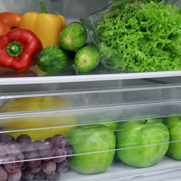 Alimentos en la nevera (bigstock)