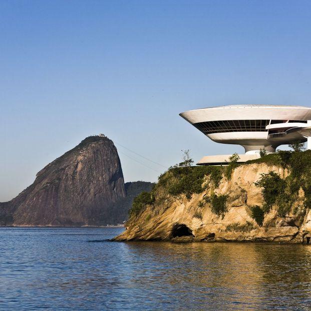 Oscar Niemeyer dio vida al Museo Contemporáneo Niterói