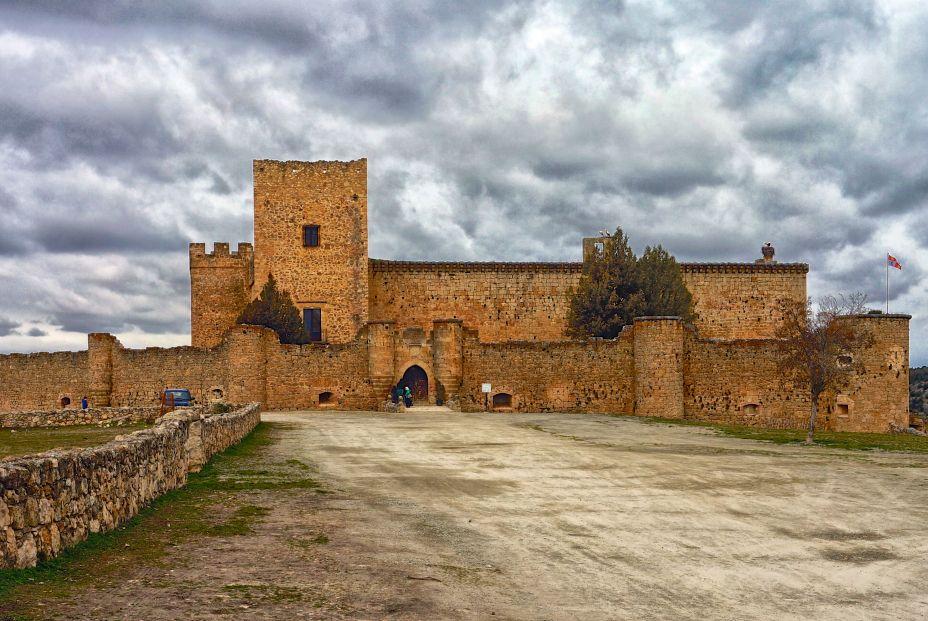 Castillo de Pedraza (Segovia) (Foto: Manuel Vidal. Flickr)
