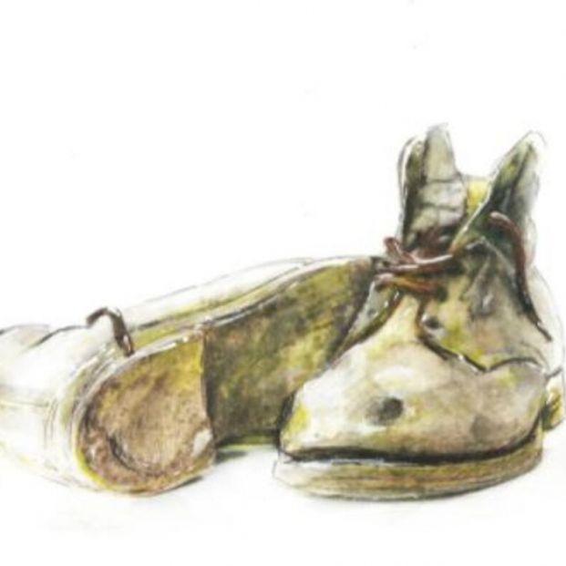 """""""Los viejos zapatos"""" obra de Miguel Ángel Martínez Coello R A: 8840. La Soledad no deseada, preludio de la muerte deseada"""