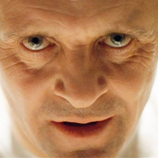 Anthony Hopkins en El silencio de los corderos
