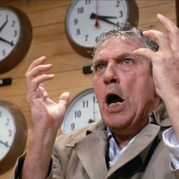 Peter Finch en 'Network' (1976)