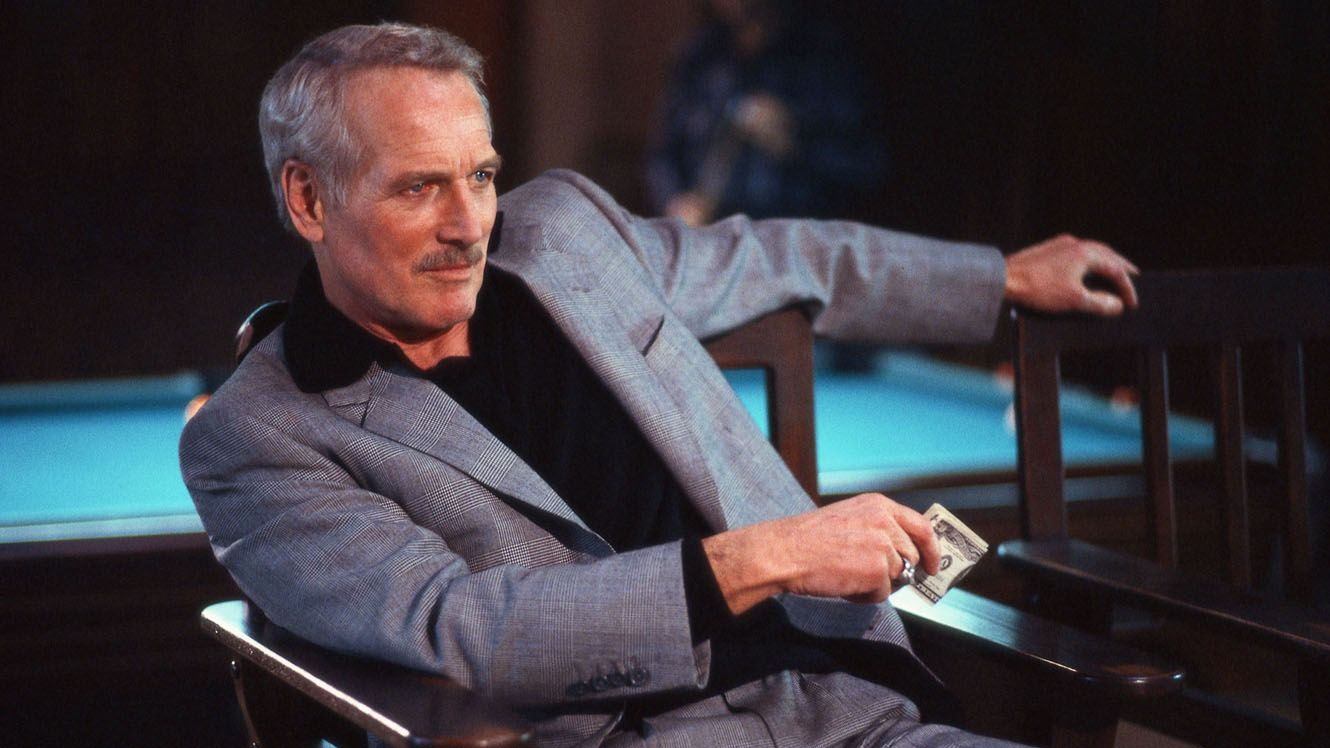 Paul Newman en 'El color del dinero' (1986)