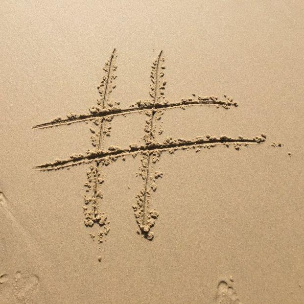 Uso del hashtag en redes sociales (Creative commons)
