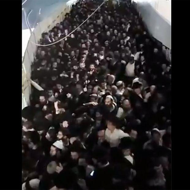 Al menos 44 muertos en Israel por una estampida en un festival religioso multitudinario