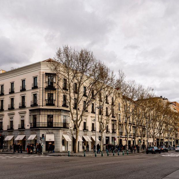 Barrios más caros de España: Calle Serrano en el barrio de Salamanca de Madrid (BigStock)