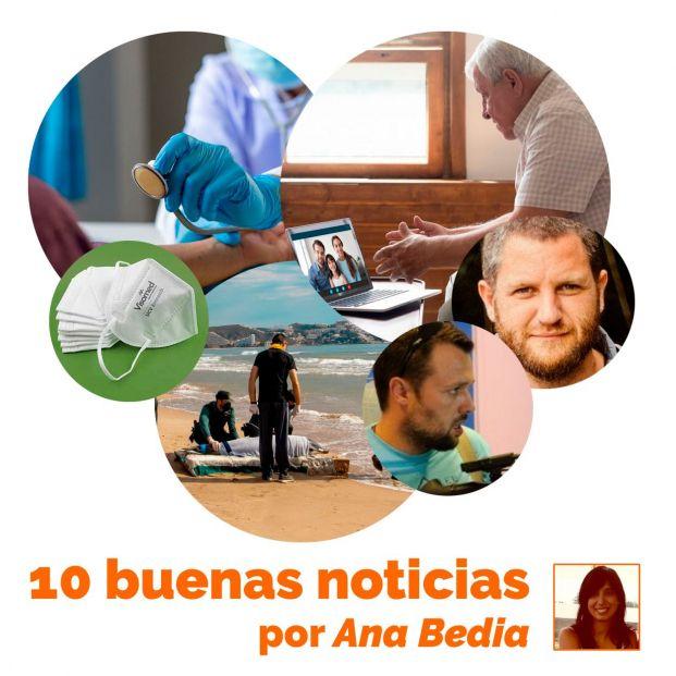 """Las 10 buenas noticias de hoy 5 de mayo: mascarillas que inactivan el Covid """"en menos de un minuto"""""""