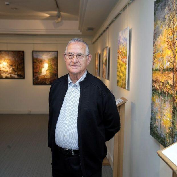 Mariano Herrera, el artista ciego que pinta cuadros hiperrealistas