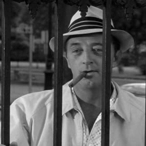 Robert Mitchum en 'El cabo del terror' (Melville-Talbot Productions)