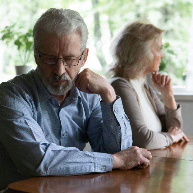 Separación después de media vida juntos: consejos para afrontarlo Foto: bigstock
