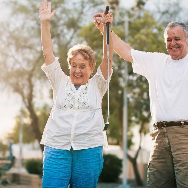 Un estudio descubre los beneficios del Golf para personas con párkinson. Foto: Bigstock