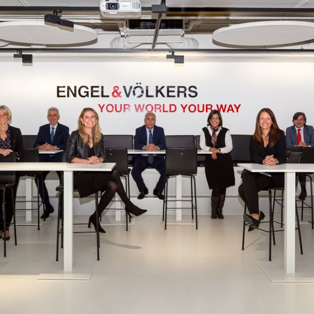 Foto: Equipo de Engel & Völkers en Madrid Capital