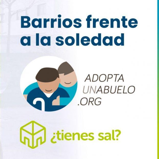 ¿Tienes sal? y Adopta Un Abuelo colaboran para acabar con la soledad en los barrios