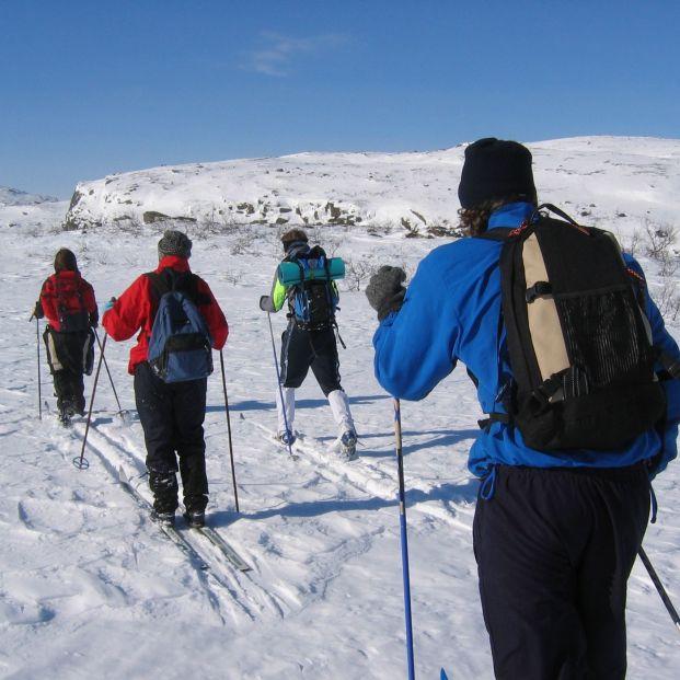 Esquí de travesía (bigstock)