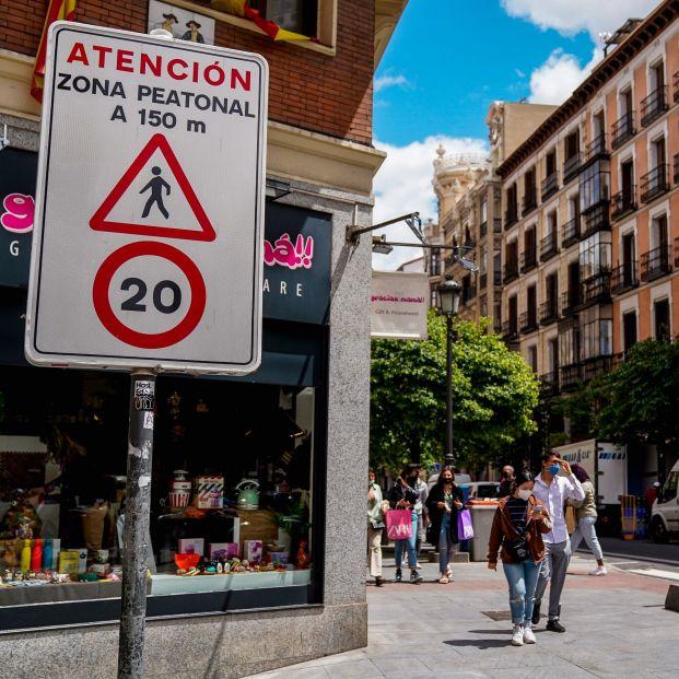 """""""Los nuevos límites de velocidad en ciudad reducirán los precios de los seguros"""". Foto: Europa Press"""