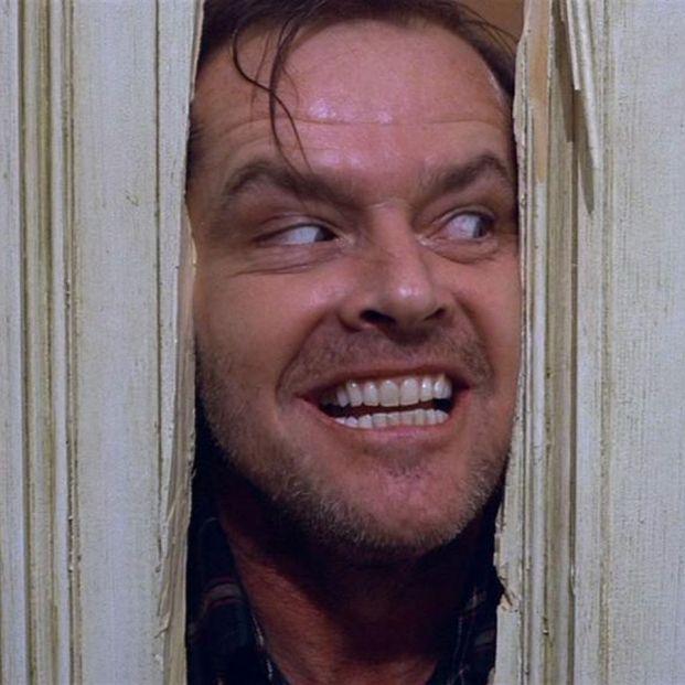 Jack Nicholson, mito del cine, en El resplandor (1980), de Stanley Kubrick (Warner Bros)