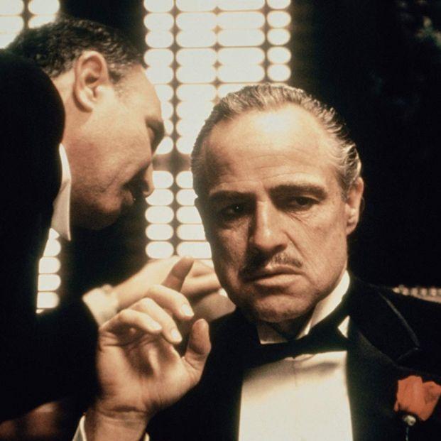 Marlon Brando y Salvatore Corsitto en El Padrino (1972), una de las mejores películas de Francis Ford Coppola (Paramount Pictures)