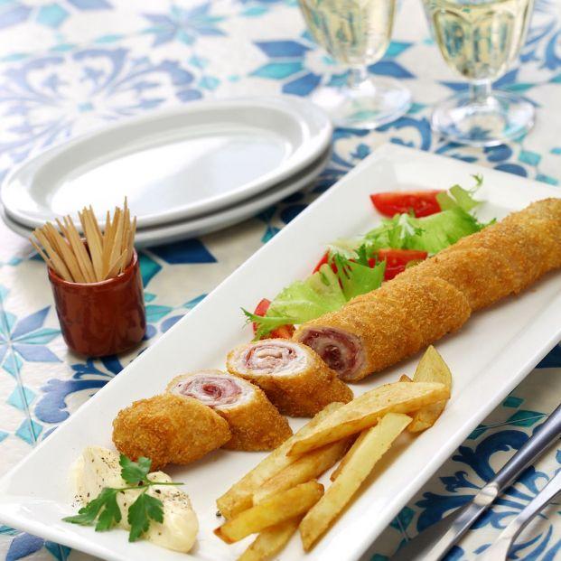 La receta del auténtico flamenquín cordobés. Foto: bigstock