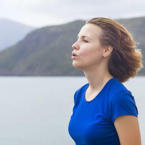 ¿Respirar bien adelgaza?