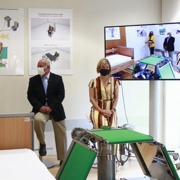 Conoce la primera camilla robotizada para mejorar la calidad de vida de las personas encamadas . Foto: EuropaPress