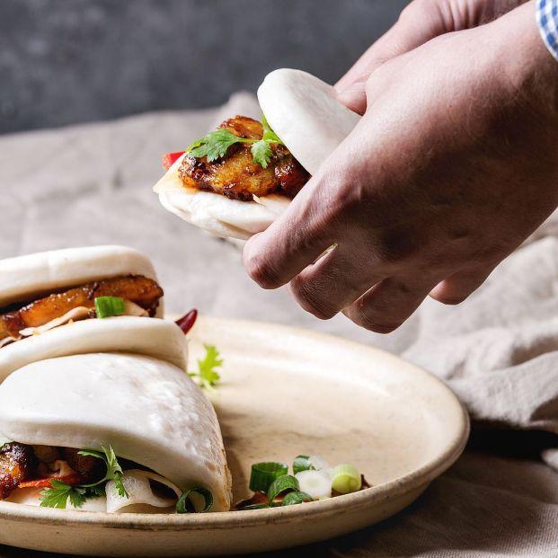Pan bao, para dar un toque asiático a tus elaboraciones. Foto: bigstock
