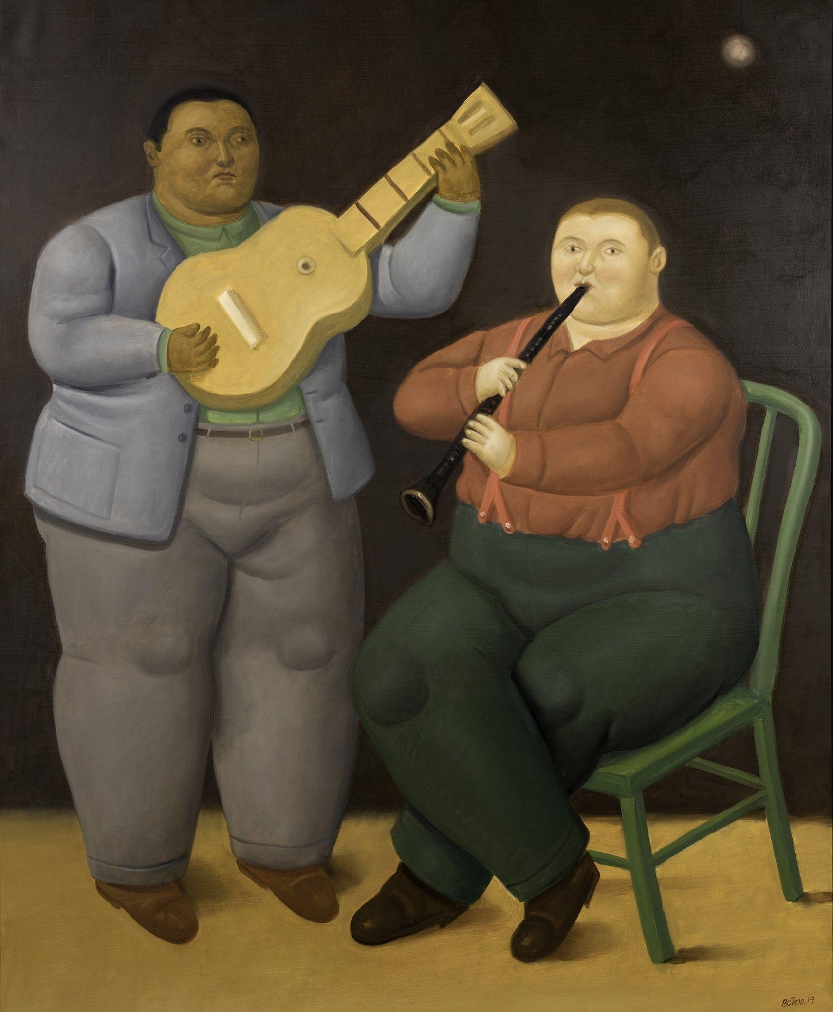 Fernando Botero Pinturas Recientes En Galería Marlboro