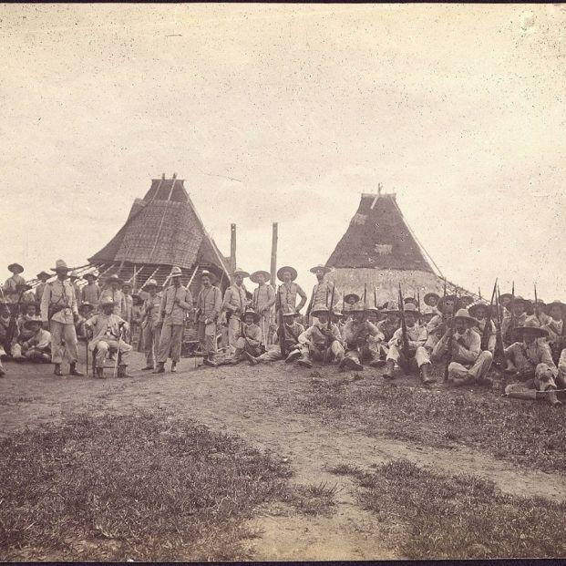 Los héroes de Baler, los últimos de Filipinas (Museo del Ejército)