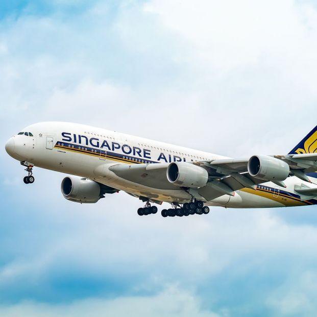 Airbus A380 de Singapore Airlines, la mejor aerolínea del mundo (BigStock)