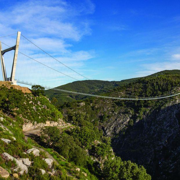 El puente colgante más largo del mundo está en Portugal Foto: Itecons