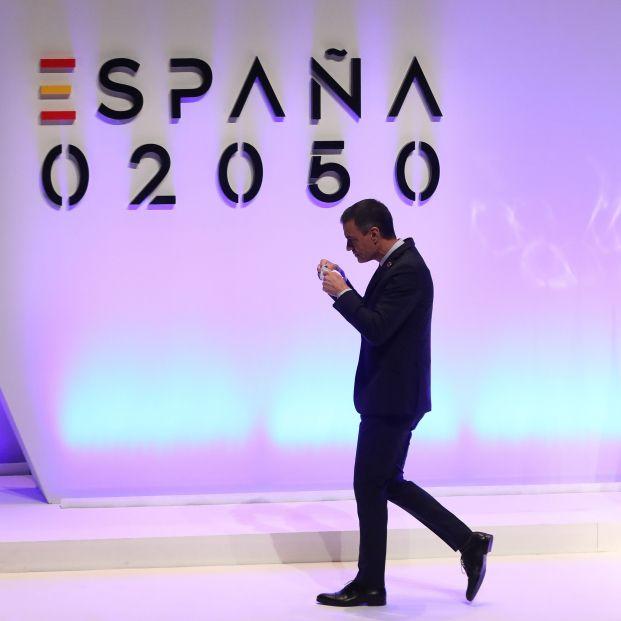 EuropaPress 3723288 presidente gobierno pedro sanchez llegada intervenir presentacion proyecto