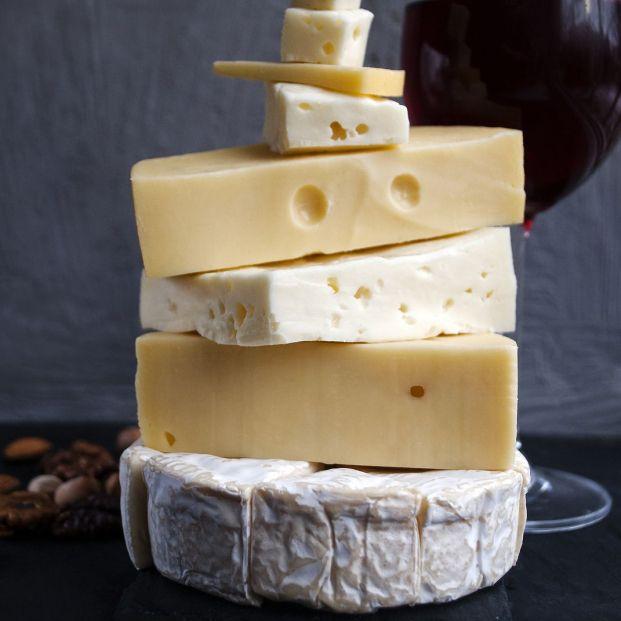 Quesos italianos: variedad y sabor en tu mesa. Foto: bigstock