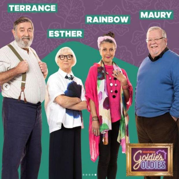 'Goldie's Oldies', la nueva serie de Nickelodeon sobre la relación entre nietos y abuelos