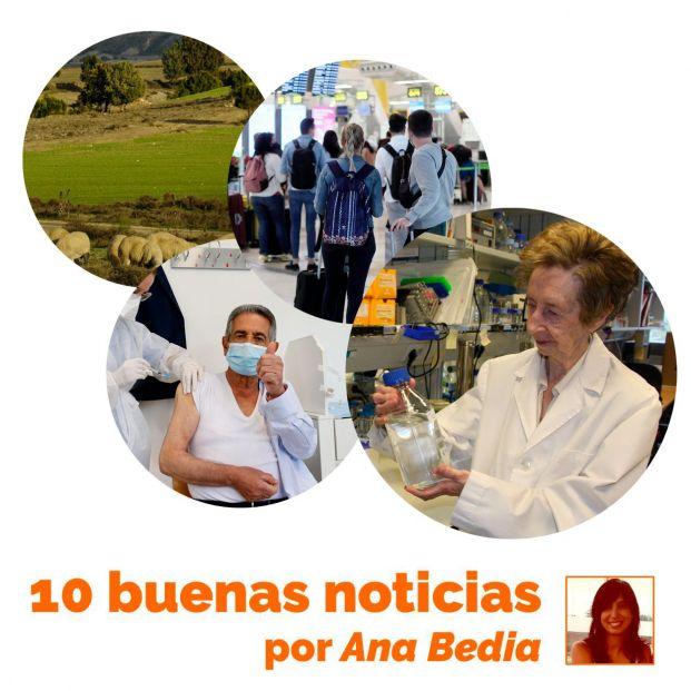 Las 10 buenas noticias de hoy 25 de mayo: España abre fronteras