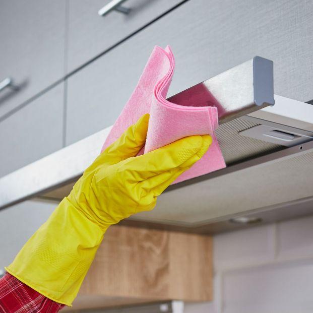 Trucos para limpiar las campanas de acero inoxidable y que no queden huellas Foto: bigstock