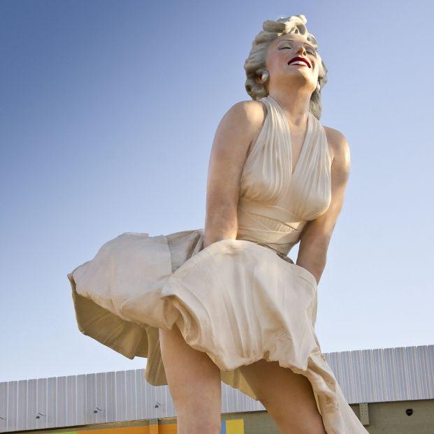 """La colosal estatua de Marilyn Monroe desata la polémica por ser """"obscena y sexista"""""""