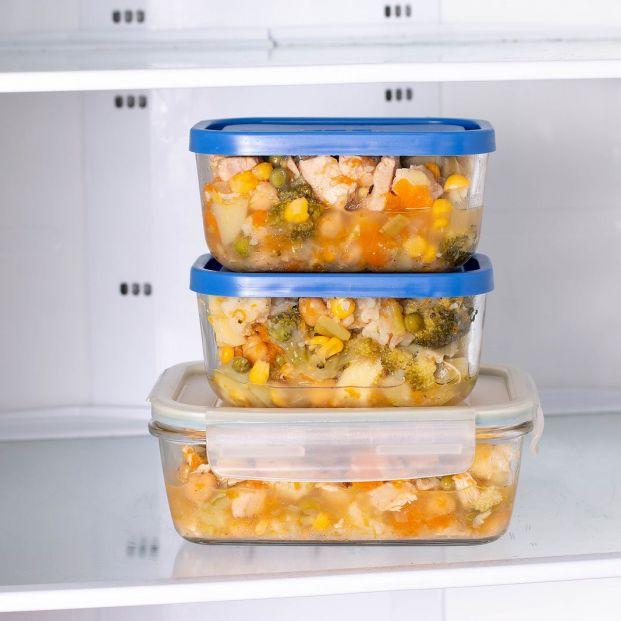 ¿Ha sobrado comida? Reglas de oro para guardarla en la nevera  Foto: bigstock