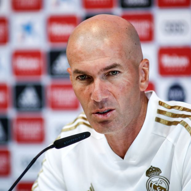 El Real Madrid comunica la marcha de Zinedine Zidane