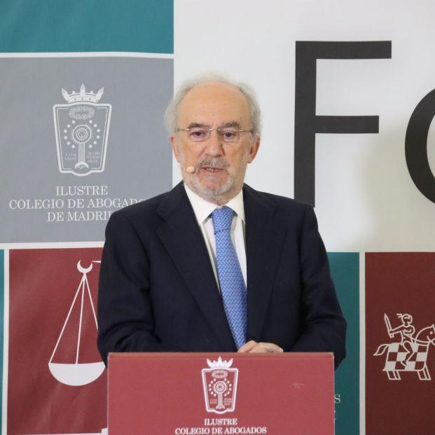 """Muñoz Machado admite que el lenguaje inclusivo afea el lenguaje de manera """"insostenible"""". Foto: Europa Press"""