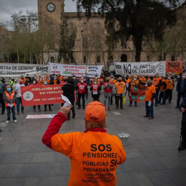 Movilización inédita de pensionistas