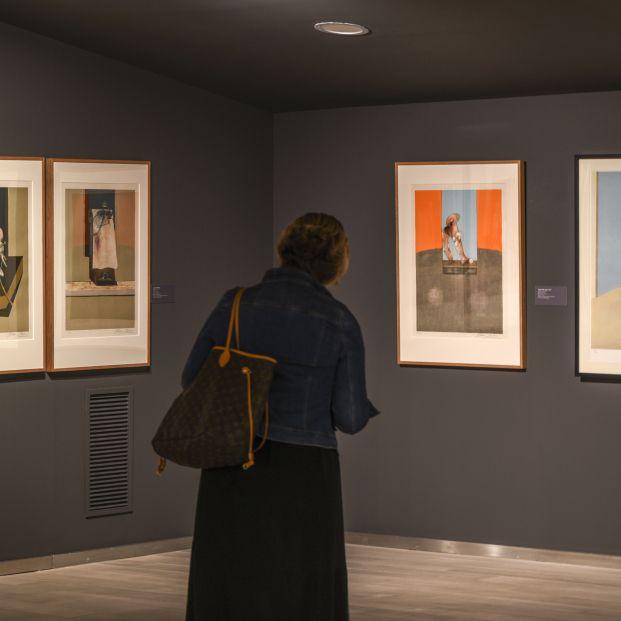 Bacon y Freud reunidos de nuevo en una exposición que recorre su obra gráfica. Foto: Europa Press