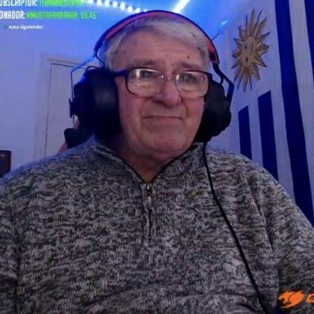 """Ibai Llanos, el rey de Twitch, se rinde a los pies de un gamer de 70 años: """"No hay edad para esto"""""""