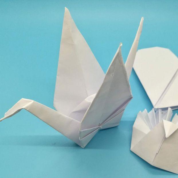 Origami o papiroflexia, mucho más que hacer figuras con papel (Bigstock)