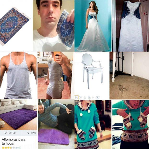 Lo que pediste versus lo que llegó, algunos ejemplos de compra 'fail' por Internet