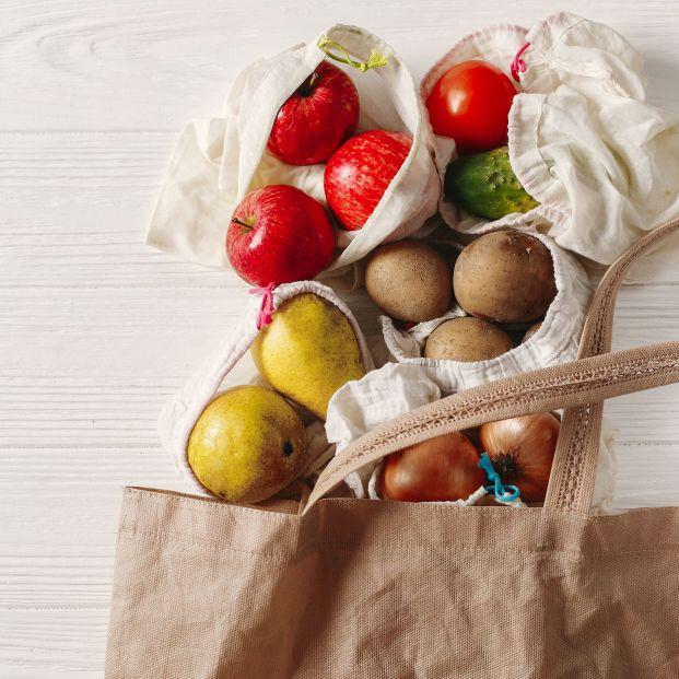 Alternativa a las bolsas de plástico (bigstock)