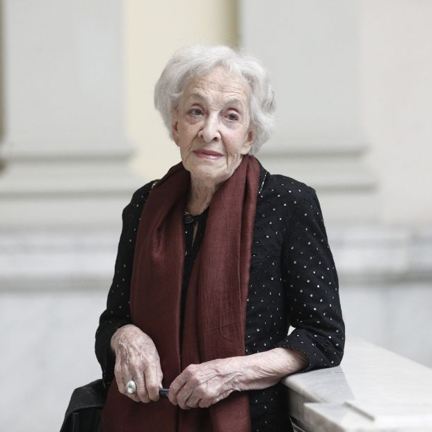 Ida Vitale Premio Cervantes 2018. Foto: EuropaPress