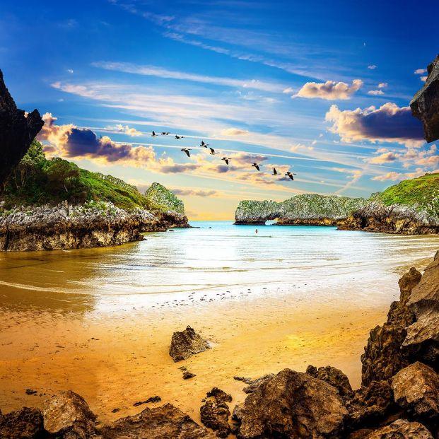 Siete playas vírgenes que puedes disfrutar en España. Foto: bigstock