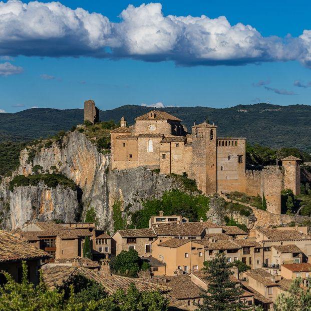Visitamos Alquézar, uno de los pueblos más bonitos de España Foto: bigstock. Alquézar