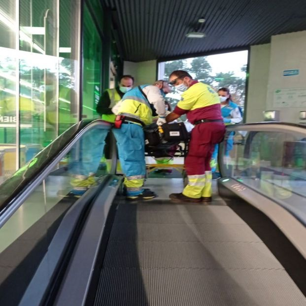 El SUMMA salva la vida a un hombre de 43 años en un supermercado